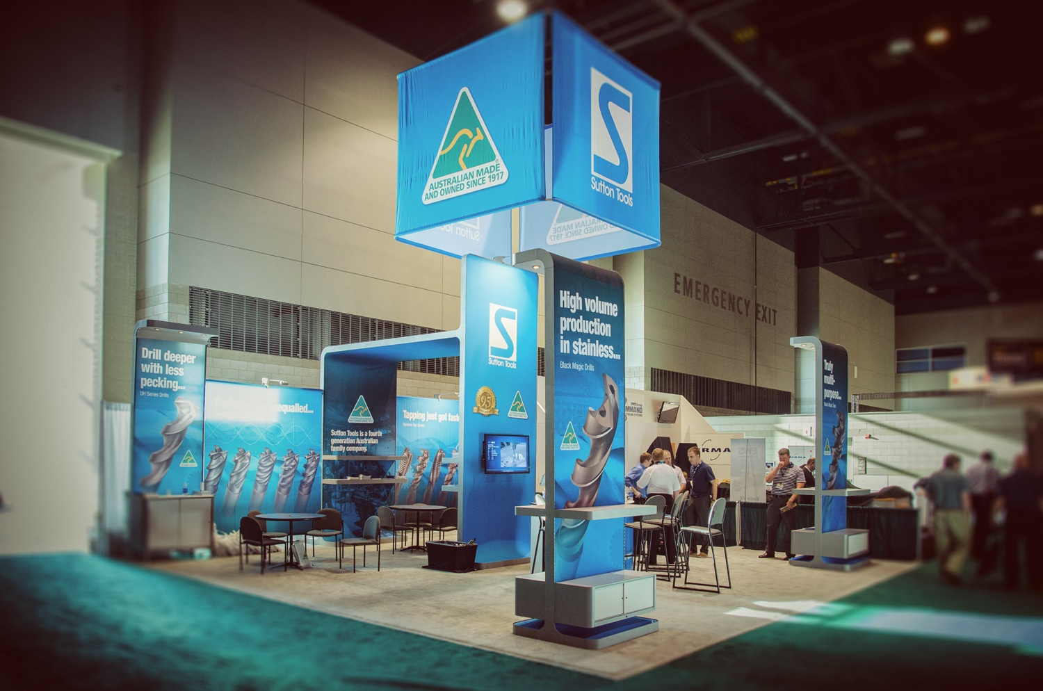 Sutton Tools Exhibit Photography at IMTS in Chicago