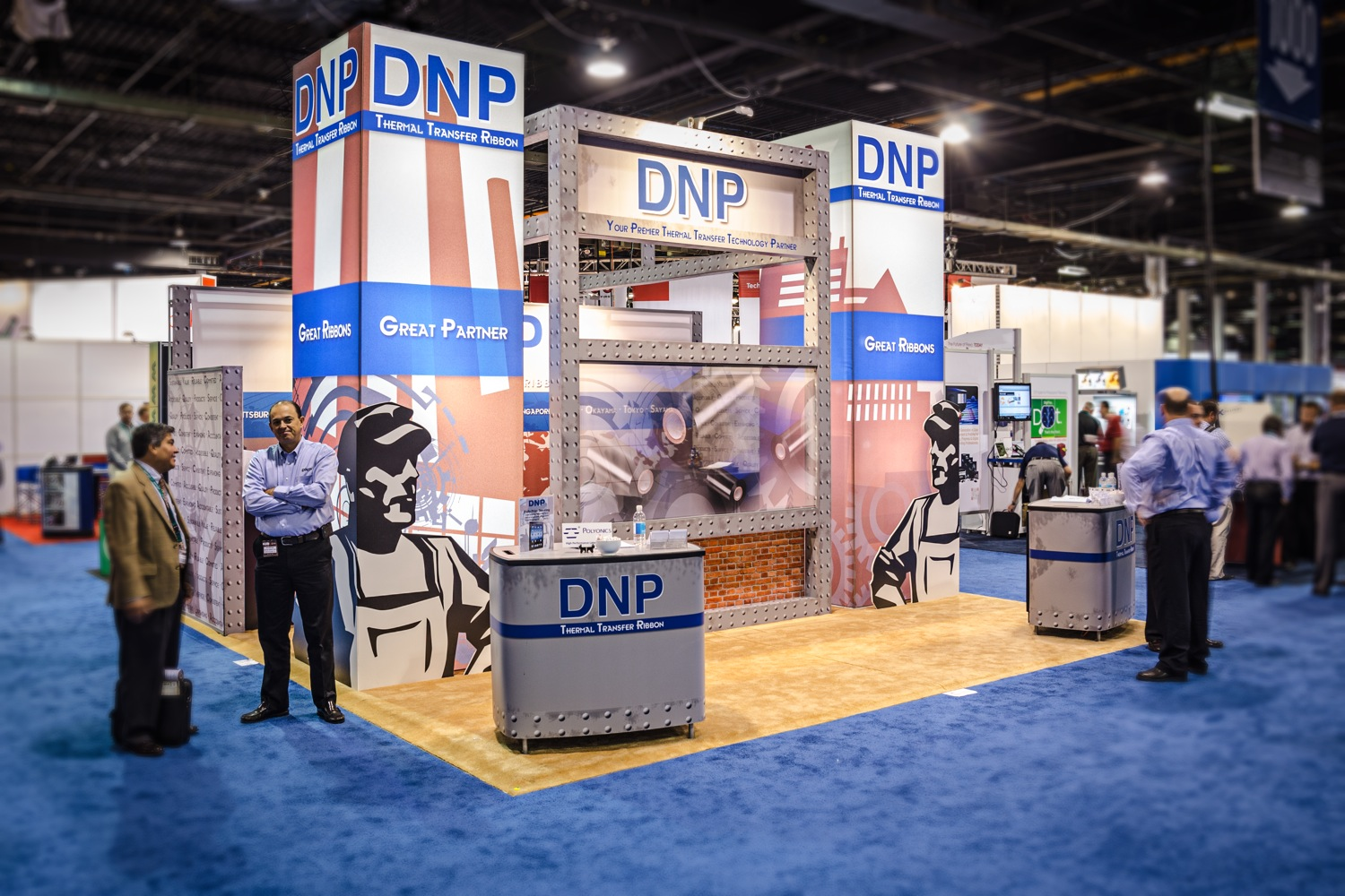 DNP Exhibit Photography at FabTech in Chicago