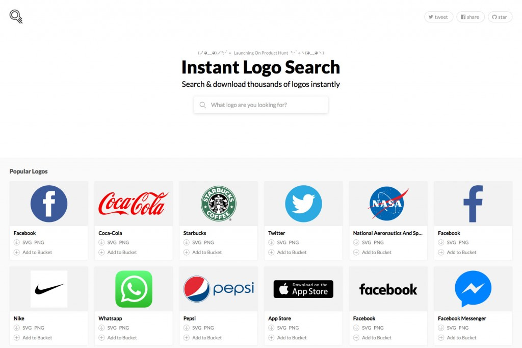 Intant Logo Search