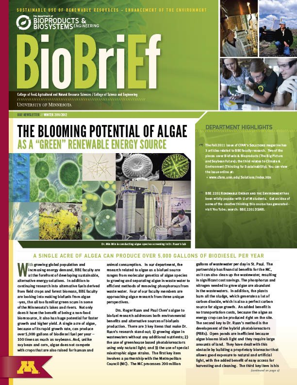 UofM BioBrief Newsletter